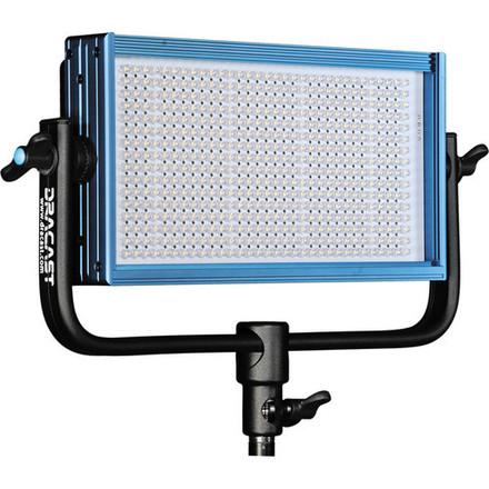 Dracast LED500 LED panel Light + Light Stand + BATTERIES