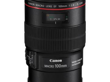 Rent: Canon 100mm Macro 2.8 L Series