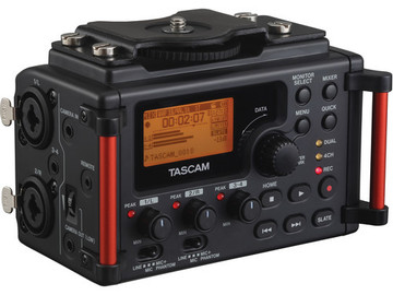 Rent: Tascam DR-60DmkII 4-Channel Portable Recorder for DSLR