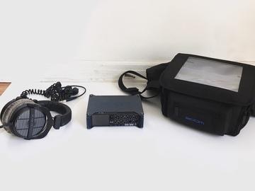Rent:  Zoom F8 Multi-Track Field Recorder w/ Bag