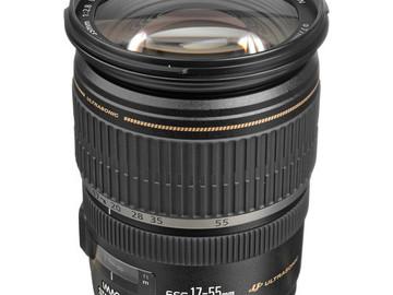 Rent: Canon 17-55 2.8 EFS Lens