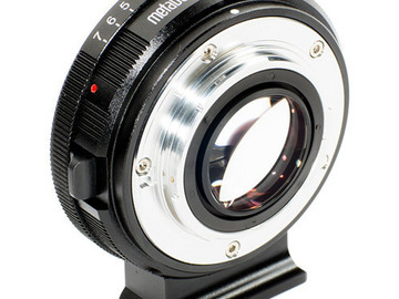 Rent: Metabones Nikon F to Micro Four Thirds Speed Booster 0.71x