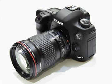 Rent: Canon 5D Mark III package with lens