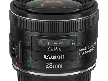 Rent: Canon EF 28mm f/2.8 USM