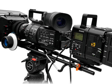 Rent: Sony NEX-FS700R Fully Accessorized PL Mount