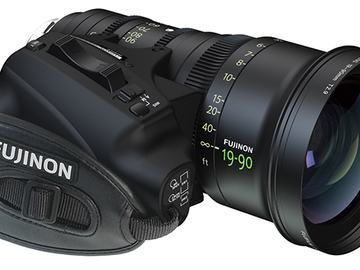 Rent: Fujinon 19-90mm T2.9 Cabrio Zoom with Servo Unit
