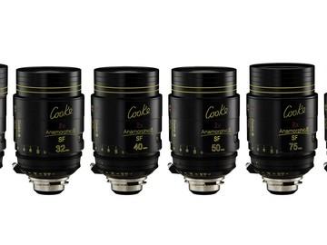 Rent: Cooke Anamorphic/i  SF Prime Lens Set (25-100)