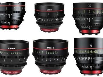Rent: Canon CN-E Cinema Prime Lens Set