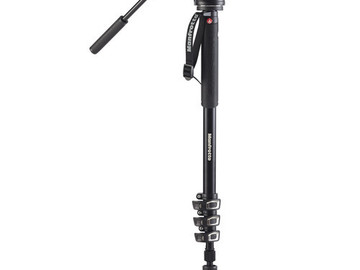 Rent: Manfrotto MVM500PROUS XPRO Aluminum Fluid Head Monopod