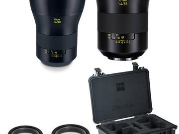 Rent: Zeiss Otus 2 lens set