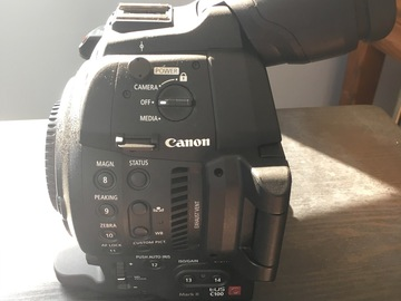 Rent:  C100 Mark ii