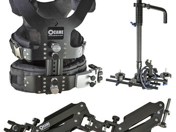 Rent: 33 LBS - CAME-TV  - Carbon Stabilizer Vest, Arm and Sled
