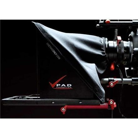 One Take Only PAD TELEPROMPTER w/ 15mm rails