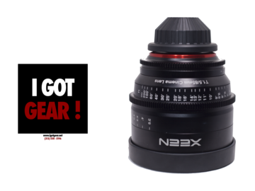 Rent: Xeen 85mm T1.5 Lens for PL Mount