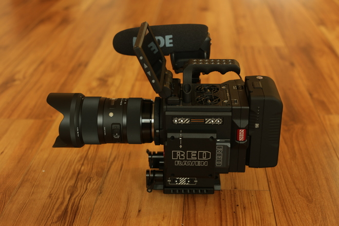 Red Raven Dragon 4.5K Package 2.0 with Lens/Mic/Tripod