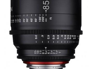 Rent: Xeen 85mm EF T1.5 Prime Lens