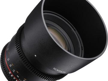 Rent: Rokinon Cine DS 85mm T1.5