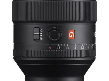 Rent: Sony FE 85mm f/1.4 GM Lens