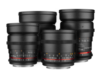 Rent: Rokinon Cine Lens Set