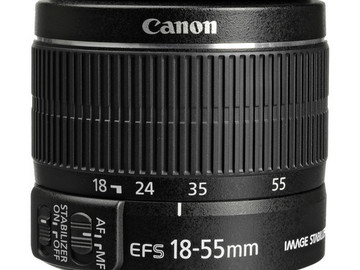 Rent: Canon EF-S 18-55mm f/3.5-5.6