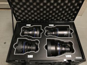Rent: Zeiss Primes Lens Set (PL)