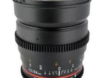 Rent: Rokinon 24mm EF mount