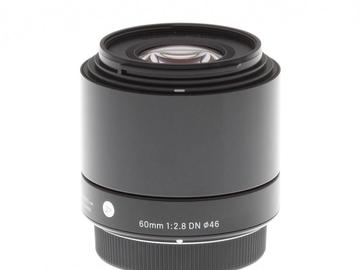 Rent: Sigma 60mm f/2.8 DN Art