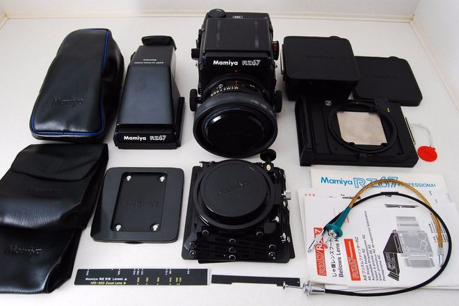 Rent a Mamiya RZ67 Pro Kit with 110mm lens and Prism finder