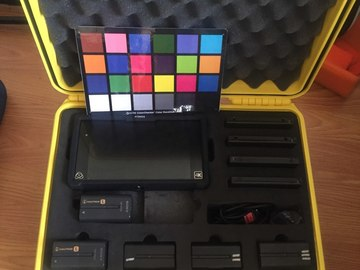Rent: 4K recorder Atomos Shogun/ 1250GB / 5 batteries