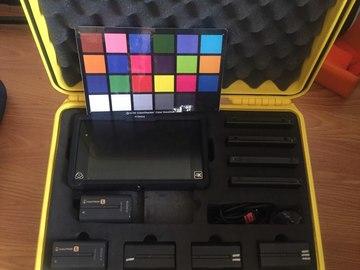 Rent: 4K recorder Atomos Shogun/ 1250GB / 5 batteries