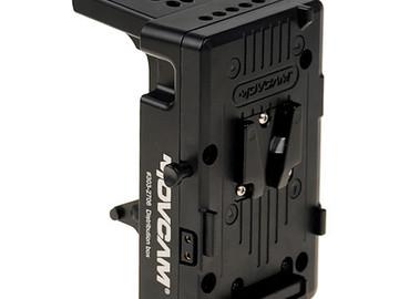 Rent: Movcam V-Mount Battery Adapter for FS7