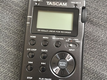 Rent: Tascam DR-100 mkII Linear PCM Recorder