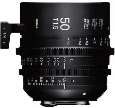 Sigma Cine Lens (EF) Package: 18mm - 35mm, 50mm, 85mm