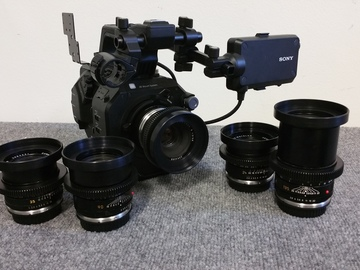 Rent: Sony PXW-FS7M2  AND Leica R Lense Super 35 Camera MK2 4K