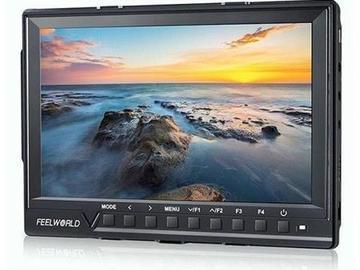 "FeelWorld 7"" Full HD Monitor (accepts 4K video)"