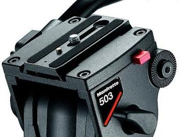 Rent: Manfrotto 503HDV Video Fluid Head and Tripod