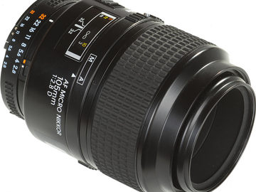 Rent: Nikon Nikkor Telephoto 105mm F/1.8 AIS (w/ hood)