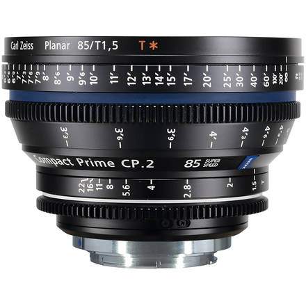 Zeiss Compact Prime CP.2 85mm T1.5 Super Speed