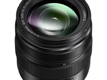 Rent: PANASONIC LUMIX G X VARIO 12-35 f/2.8 MFT LENS w/ focus gear