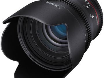Rent: Rokinon 50mm T1.5 AS UMC Cine DS Lens