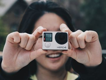 Gopro 4 with accecories
