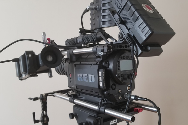 RED RED One M-X 4K Package w/ Lenses & Additional EVF