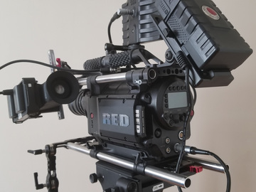 Rent: RED RED One M-X 4K Package w/ Lenses & Additional EVF