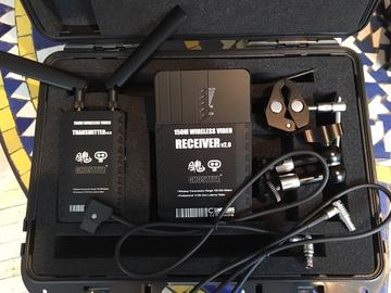 Cinegears Ghost-Eye Wireless Video Kit 150M + Sony Batts