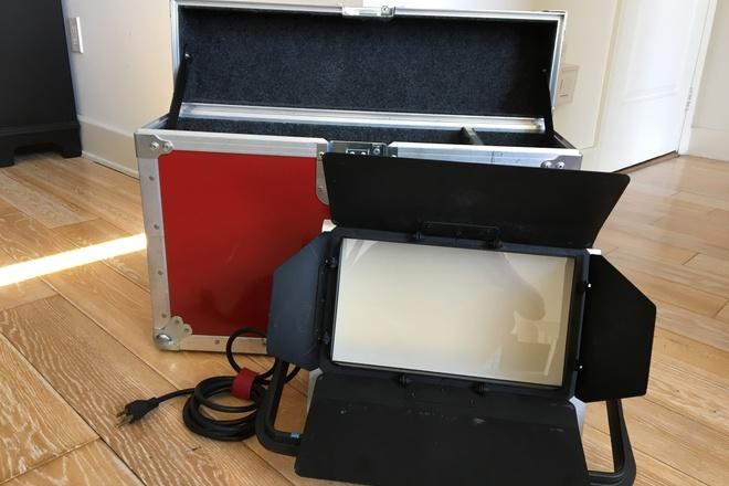 TWO Mole LED Tungsten Light Panels