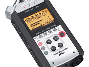 Rent: Zoom H4n Digital Audio Recorder w/ rechargeable batteries