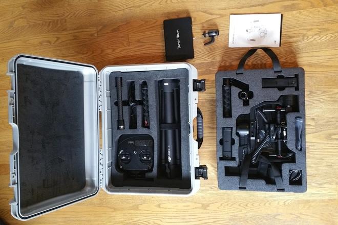 DJI Ronin-M 3-Axis Handheld Gimbal Stabilizer