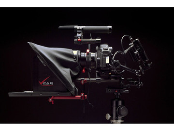 Rent: TABLET TELEPROMPTER Onetakeonly PAD Prompter for 15mm Rigs