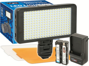 Rent: Vidpro Ultra-Slim LED-230 On-Camera Video Lighting Kit