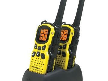 Rent: Motorola Talkabout 35-mile Two-way Radio PAIR